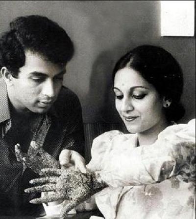 Gavaskar-and-Marshneil-after-marriage
