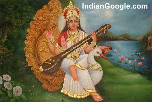 Maa Saraswati Images OR Beautiful Images of Maa Saraswati 12