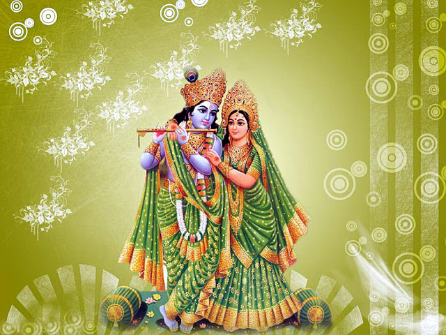 Hindu God Shri Krishna Beautiful High Definition Wallpapers