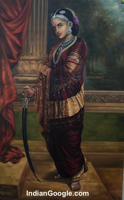 Rani-Laxmi-Bai-Painting