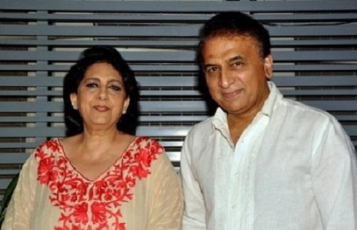 Sunil-Gavaskar-with-his-wife-Marshneil2