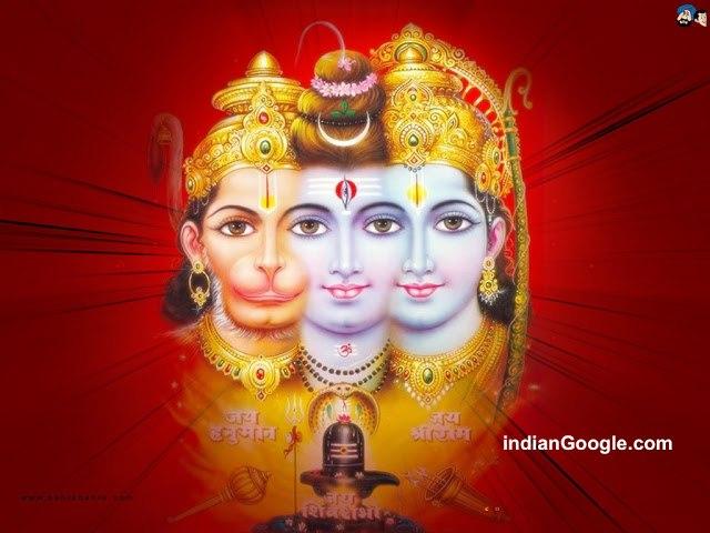 Hindu God Ram With Hanuman ji HD Wallpapers