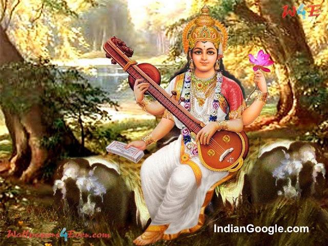 Maa Saraswati Images OR Beautiful Images of Maa Saraswati 8