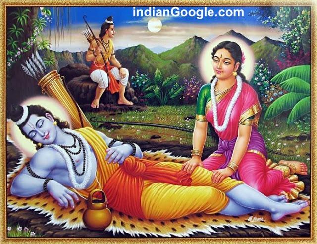 Hindu Lord Ram Beautiful Photo for Widescreen