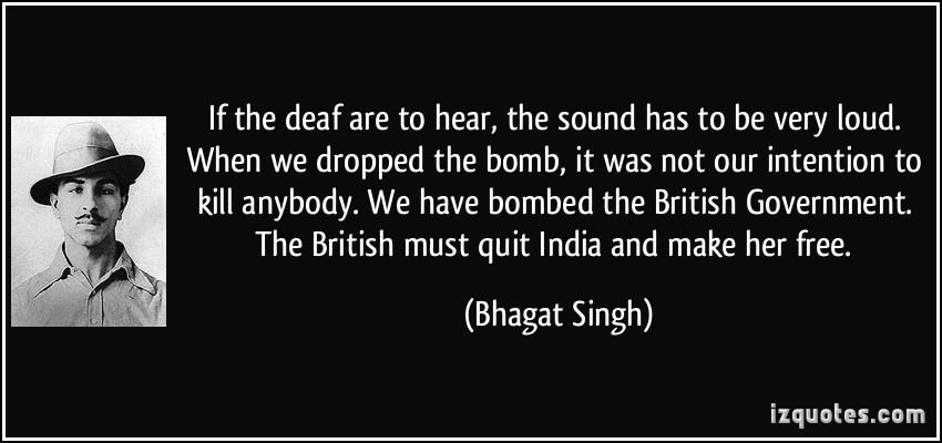 Bhagat Singh Quotes in Hindi - 【30+ Slogan of Bhagat Singh】 1