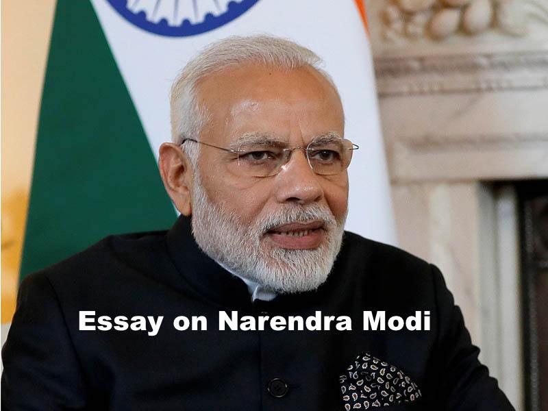 Narendra Modi essay in hindi