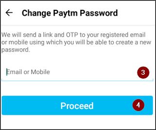 Paytm Password Change Kaise Kare Paytm पासवर्ड कैसे बदले। 9