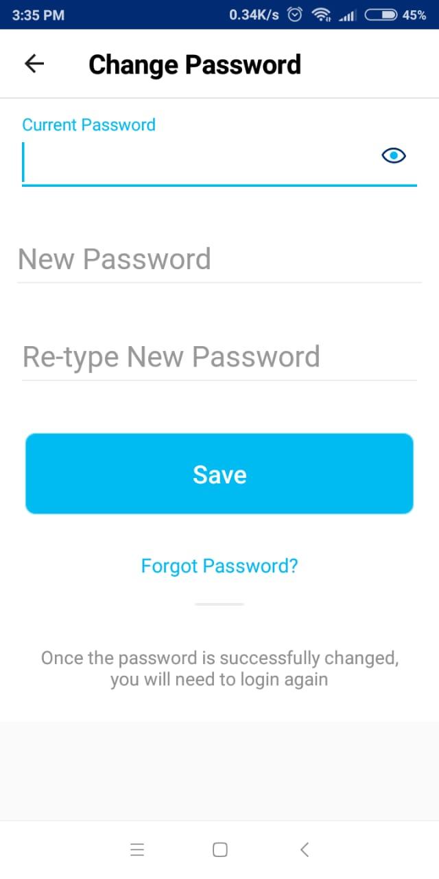Paytm Password Change Kaise Kare Paytm पासवर्ड कैसे बदले। 6