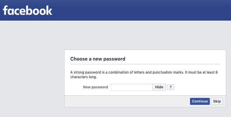 Facebook Account Kaise Khole Aur Password Change Kaise kare 5