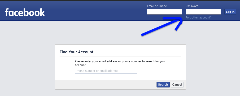 Facebook Account Kaise Khole Aur Password Change Kaise kare 2