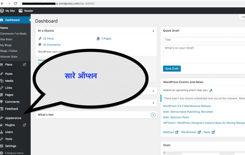 Wordpress in Hindi Guide - Wordpress क्या है इसको कैसे इस्तेमाल करते है। 3