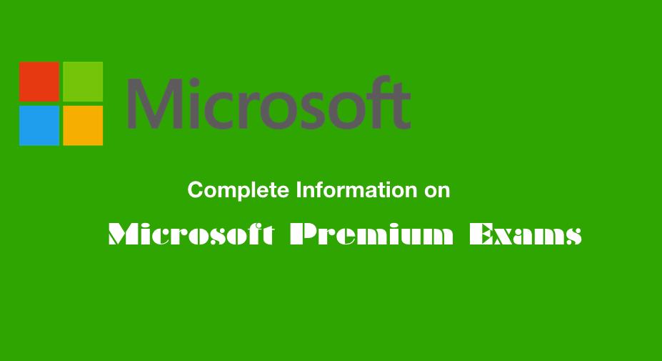 Microsoft Premium Exams